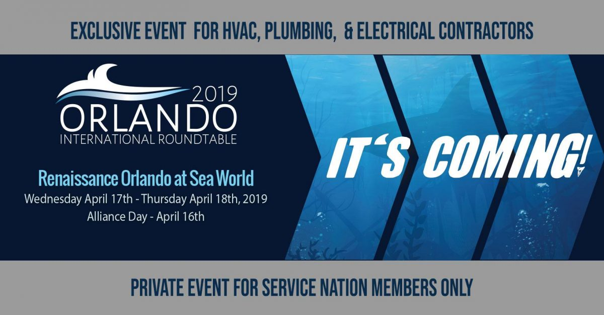 Join the 11th Annual International Roundtable in Orlando-A Premiere Event for Residential Contractors