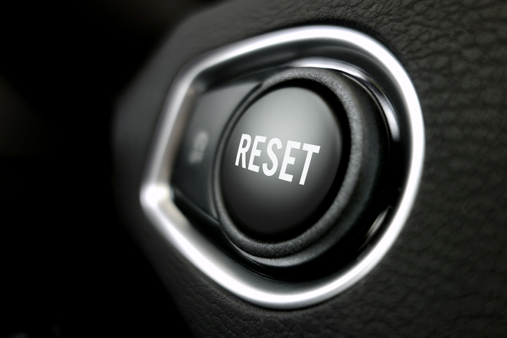 Time to Push the Reset Button